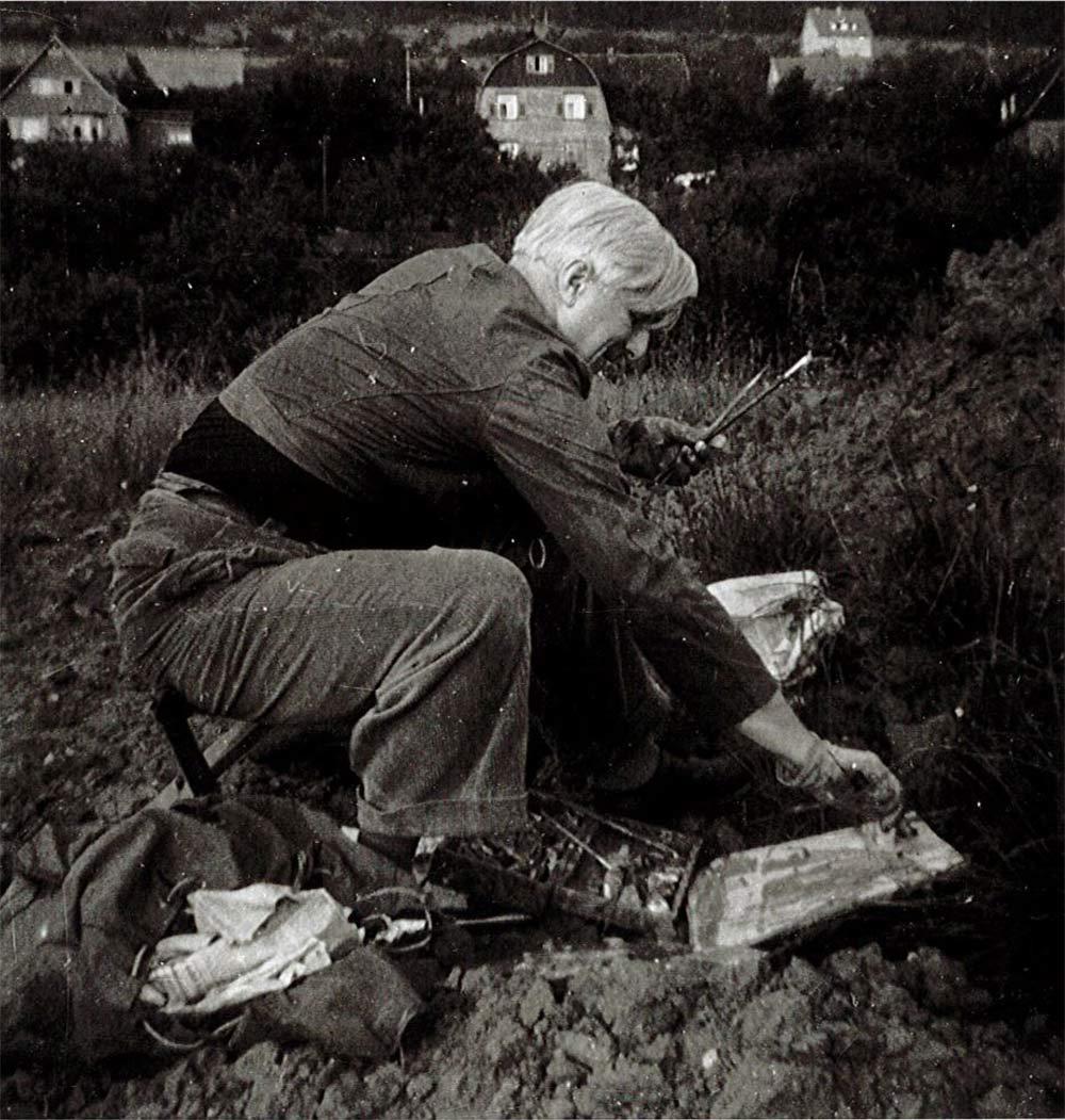 OD-beim-Malen-in-der-Natur-1954